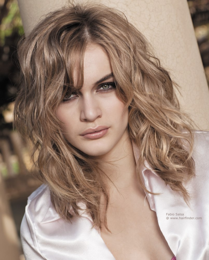 Hairstyles For Naturally Curly Hair Medium Length Page 1