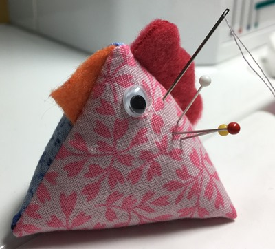 chicken pincushion