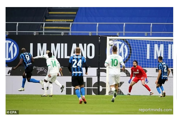 Serie A: Lukaku and Lautaro Martinez goals inspired Inter Milan 2-1 win over Sassuolo (Highlights) 2020-2021