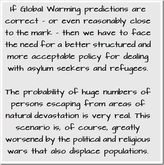 global warming refugees