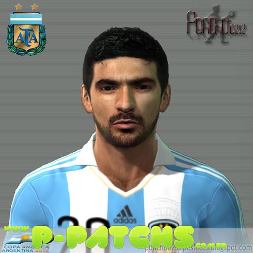 Ezequiel Lavezzi Face para PES 2011 PES 2011 download P-Patchs