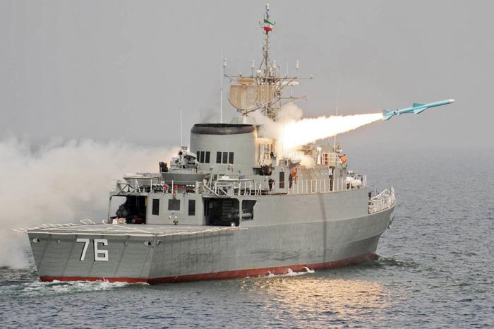 Irán planea modernizar misil crucero marítimo 'Qadir' de fabricación nacional. Jamaran