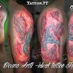 arm land cover up - tattoos ideas