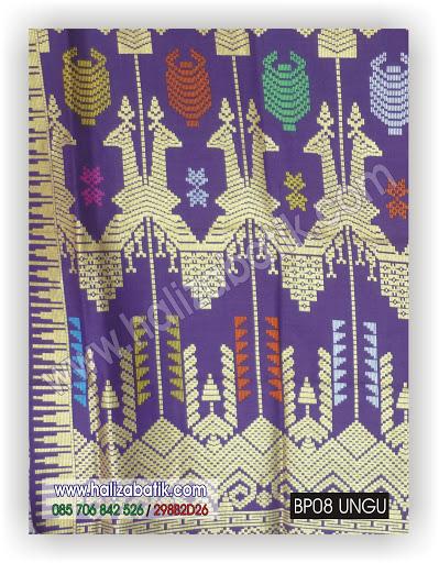 Motif Kain Batik, Model Batik Modern, Gambar Baju Batik, BP08 UNGU