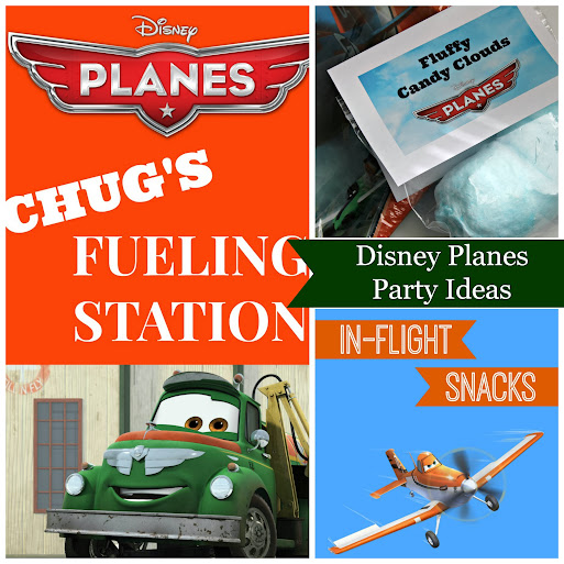 Disney Planes Party Ideas - Free #Printables #DisneyPlanes