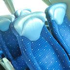 Het interieur van de Scania Irizar van Coach Group Holland bus 284