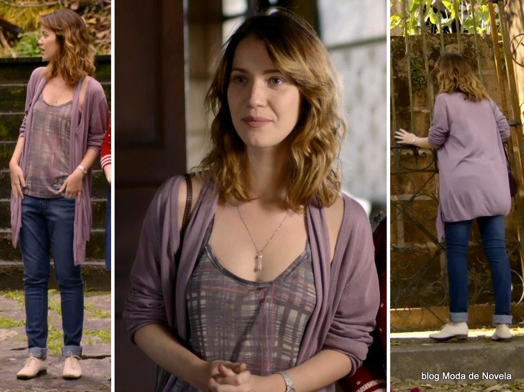 moda da novela Alto Astral, look da Laura dia 17 de novembro de 2014