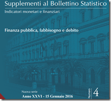 Supplementi al Bollettino Statistico. Novembre 2015