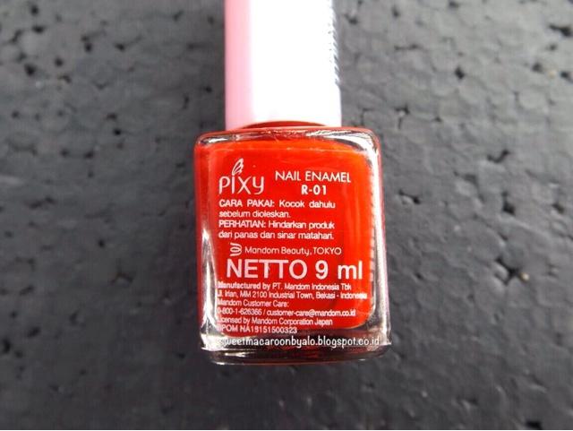 Nothing special~. Seperti nail polish lainnya ...