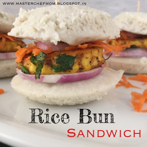 Rice Bun Sandwich Burger | Vegan Burger Recipe| Gluten Free Burger