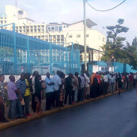Mombasa residents queues fulfill Tax obligation. PHOTO | ORIGINAL     Mombasa KRA officials with DCI close down three companies for tax evasion. The owners of companies cannot be traced.       KRA as well closed down seven businesses belongs to Abdi Gedi Amin. He was alleged to have evaded tax mounting 50 Million. Mr. Abdi Gedi was arrested on Thursday in Mombasa for being involved in a massive tax evasion syndicate apart from the 50 Million owed his businesses.        His businesses have been trading as manufacturers, wholesale, s and retailers in household commodities including sugar, oils, general goods to transport services. The companies are spread across Mombasa and Nairobi.      The government wants all businesses to pay taxes as required by law. KRA now will target small and medium enterprise businesses which have neglected their tax compliance.