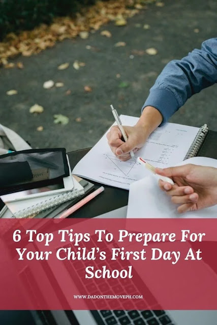 Tips to prepare your child for their first day at school