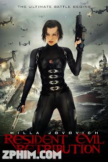 Vùng Đất Quỷ Dữ 5: Báo Thù - Resident Evil: Retribution (2012) Poster