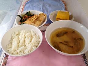 4月18日のお昼ごはん。