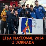LIGA NACIONAL 2014 - I JORNADA