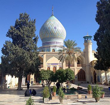 Imamzadeh-ye Ali Ebn-e Hamze Schrein  ( 19. Jh.) in Schiras