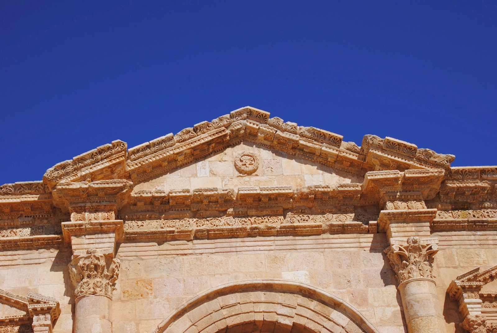 My Photos: Jordan -- Jerash -- Triumphal Arch