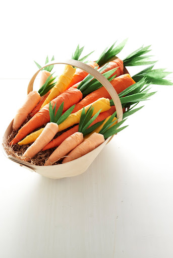 A bushel of carrots