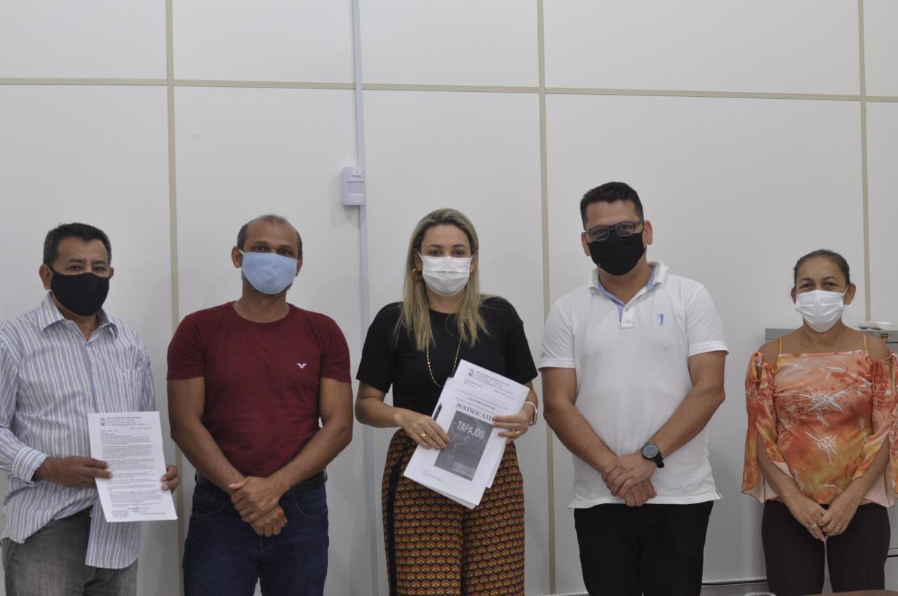 Justificativa, de quase 1000 páginas, é protocolada na  Procuradoria Geral de Santarém, defendendo a criação de Lei Complementar pró estado do Tapajós