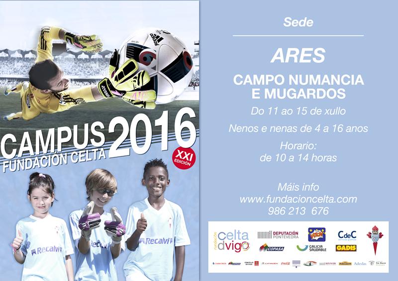 XXI Edición do Campus da fundación Celta de Vigo. Ares 2016