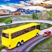 Drive Hill Coach Bus Simulator : Bus Game 2019