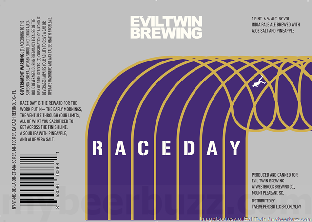 Evil Twin Adding Race Day IPA Cans