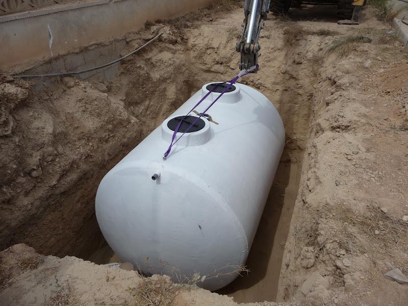 ejecución jardín diseño proyecto jardinería paisajismo san vicente alicante depósito pluviales enterrado