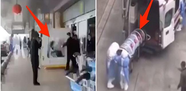 China Kian Mencekam, Penampakan Pasien Virus Corona Dalam Tabung Dan Kotak Logam