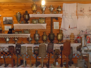 Photo: Samovar collection at the culture museum