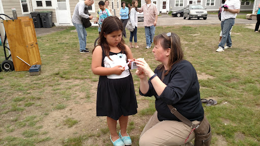 Beth-Eden walks this girl through the gospel with an effective booklet for kids.