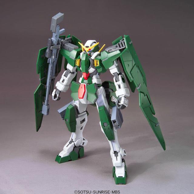 Mô hình Gundam Dynames GN-002 tỷ lệ 1/100 Scale Model kích thước khi hoàn thành cao 18 cm