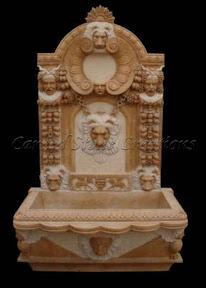 Exterior, Fountains, Gallery, Ideas, Interior, Natural Stone, Wall, wall fountain