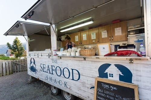 Seafood Shack Ullapool
