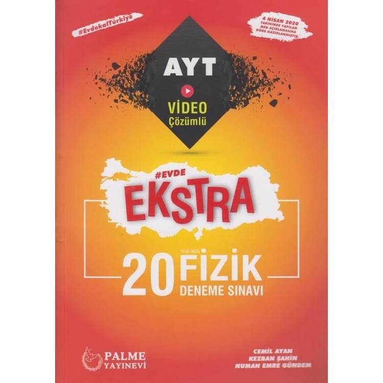 Palme Yayınları - AYT Fizik - 20'li Deneme