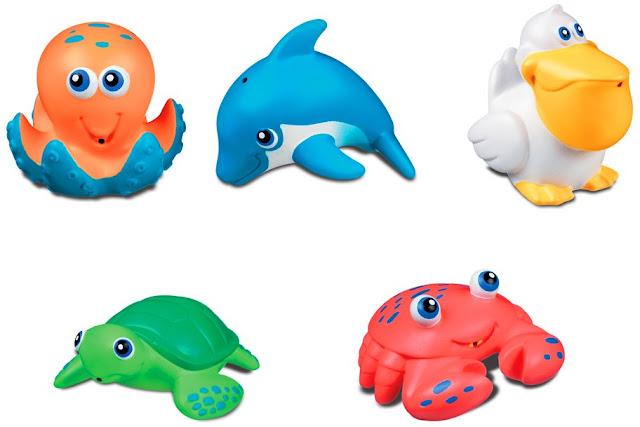 Bộ 5 sinh vật biển Five Sea Squirts Munchkin