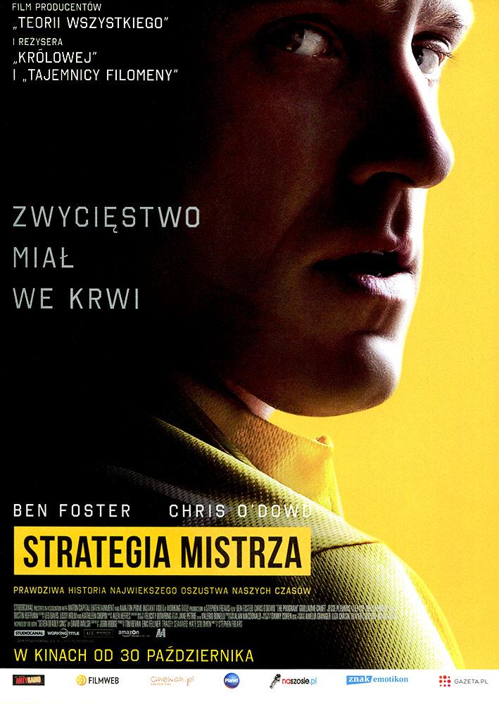Ulotka filmu 'Strategia Mistrza (przód)'