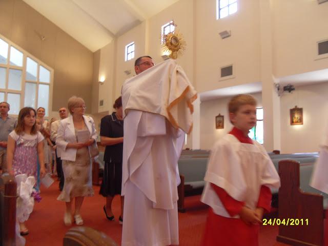 4.24.2011. Msza Wielkanocna z procesją. Zdjęcia B. Kołodyński i E. Gürtler-Krawczyńska. - SDC12522.JPG