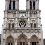 notre dame in paris in Paris, Paris - Ile-de-France, France