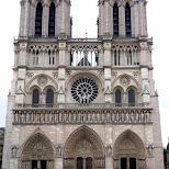 notre dame in paris in Paris, Paris - Ile-de-France, France