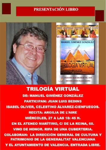 Presentación del libro: Trilogía Virtual de Manuel Giménez González