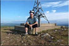 Ganalto mendiaren gailurra 898 m.  --  2016ko ekainaren 11an