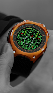V08 WatchFace for Android Wear - náhled
