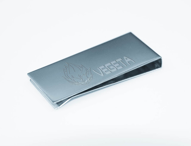 DRAGONBALL VEGETA Stainless Steel Money Clip