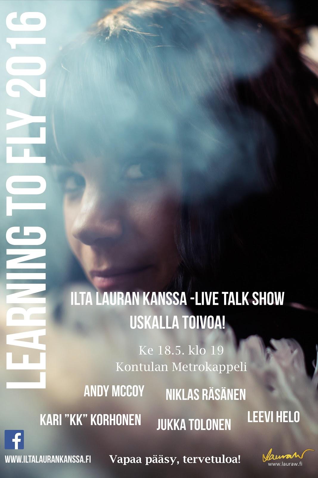 Learning to Fly: Uskalla toivoa! 18.5.2016, Helsinki, Kontulan Metrokappeli - ILK%2BHki.jpg