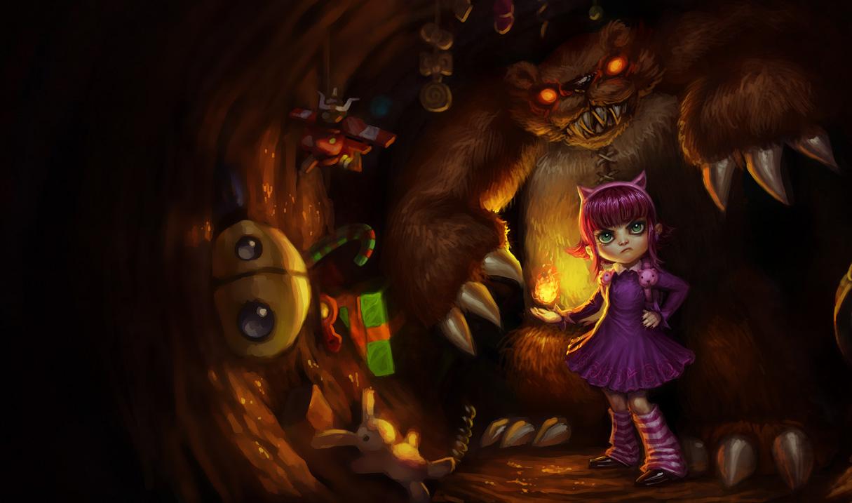 Tổng hợp hình ảnh về Annie trong Liên Minh Huyền Thoại - Ảnh 1