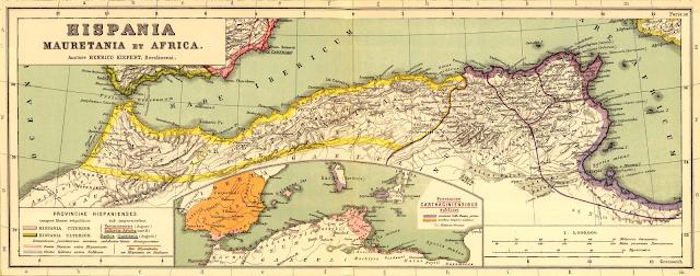 خريطة قديمة شمال افريقيا