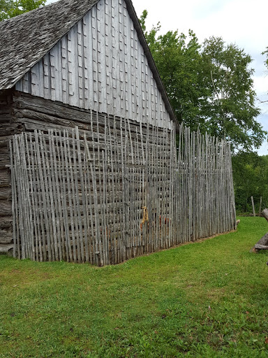 Chicken coop at the 1860 Doucet Farm, Acadian Historical Village, New Brunswick