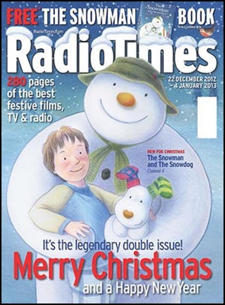 RadioTimes Christmas Edition 2012