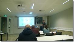 Philip presenting