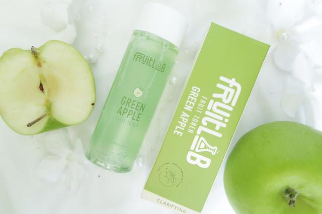 Kemasan Fruitlab Fruit Toner Green Apple